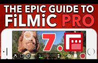 7. Resolution, BitRate & Aspect Ratio – Epic Guide to FiLMiC Pro