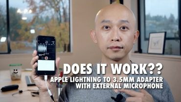 Apple Lighting to 3.5mm Adapter with External Microphone Review