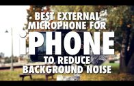 Best External Microphone for iPhone to Reduce Background Noise