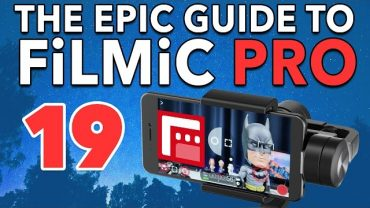 19. DJI OSMO Mobile Support – Epic Guide to FiLMiC Pro