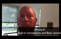 Testing external microphones with iPhone 6