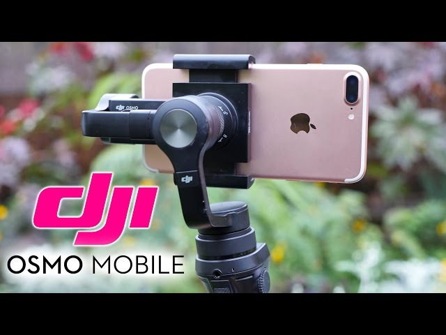 Dji Osmo Mobile Gimbal For Iphone Review