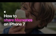 How to share Memories on iPhone 7 – Apple