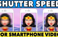 Shutter Speed for Smartphone Video Explained feat. Moondog Labs ND Filter Kit
