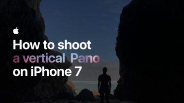 How to shoot a vertical Pano on iPhone 7 — Apple