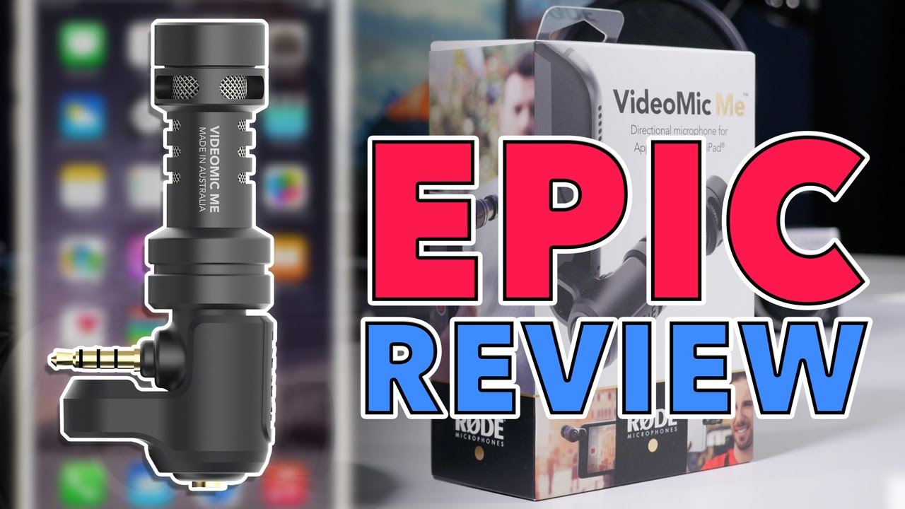 Epic Rode Videomic Me Review The Best Iphone Mic For Under 65 Videomicro Video Micro Iphonefilmmaker